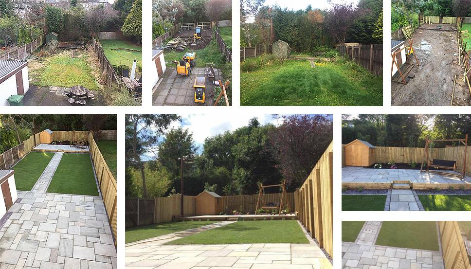 Landscape gardener glasgow landscaper glasgow garden paving newton garden makeovers glasgow workwithnaturefo